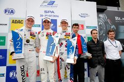 Podium: Race winner Lance Stroll, Prema Powerteam, Dallara F312 - Mercedes-Benz; second place Maximi