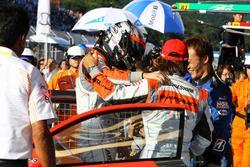 高木真一と小林崇志(#55 ARTA BMW M6 GT3)