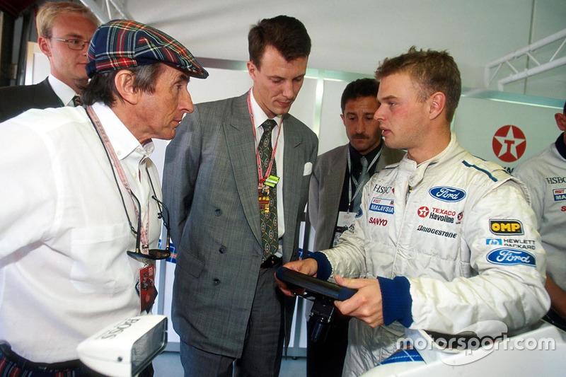 10 - Jan Magnussen, Stewart - 1998