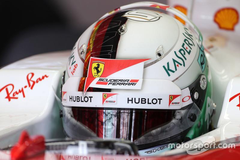 Allemagne 2016 - Sebastian Vettel, Ferrari