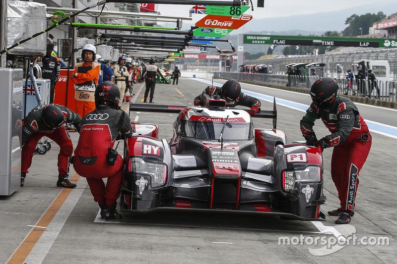 #7 Audi Sport Team Joest, Audi R18: Marcel Fässler, Andre Lotterer, Benoit Treluyer