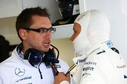 Jonathan Eddolls, Williams ingeniero de carrera con Valtteri Bottas, Williams