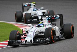 Felipe Massa en Valtteri Bottas, Williams FW38