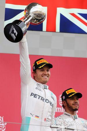 Nico Rosberg en Lewis Hamilton, Mercedes AMG F1 Team
