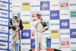 Podium: Lance Stroll, Prema Powerteam Dallara F312 – Mercedes-Benz and Joel Eriksson, Motopark Dalla