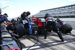 Mikhail Aleshin, Schmidt Peterson Motorsports Honda, pit action