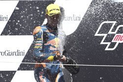 Podium: Brad Binder, Red Bull KTM Ajo, KTM