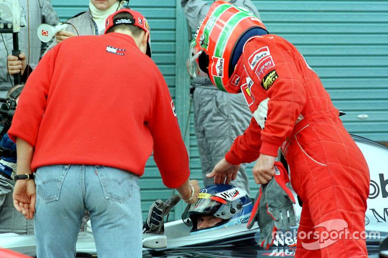Ferrari feliciteert de kampioen