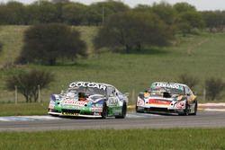 Gaston Mazzacane, Coiro Dole Racing Chevrolet, Christian Ledesma, Las Toscas Racing Chevrolet