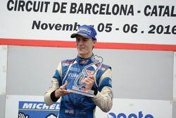 Podium: Race winner Colton Herta, Carlin Motorsport