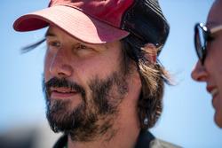 Arch Motorcycle Company y su cofundador y actor Keanu Reeves en la parrilla de WSBK