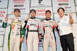 Sieger Joao Paulo de Oliveira, Team Impul; 2. Kazuki Nakajima, Team Tom's; 3. Yuhi Sekiguchi, Team I