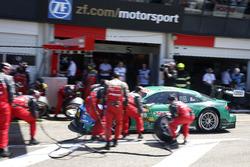 Pit stop Edoardo Mortara, Audi Sport Team Abt Sportsline, Audi RS 5 DTM