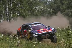 #102 Peugeot: Sébastien Loeb, Daniel Elena