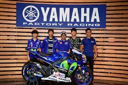Los participantes del Yamaha VR46 Master Camp