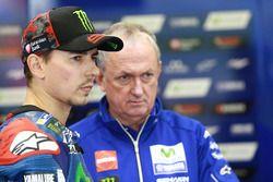 Jorge Lorenzo, Yamaha Factory Racing, et Ramon Forcada