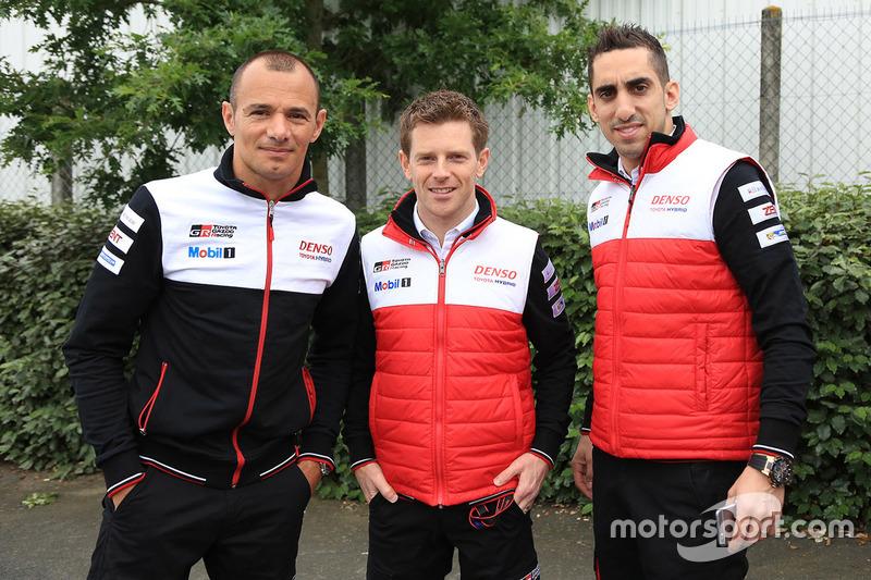 Стефан Сарразен, Энтони Дэвидсон, Себастьен Буэми, Toyota Racing