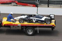 Choque de Kyle Kaiser, Juncos Racing