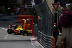 Sean Gelael, Campos Racing Sube a su auto