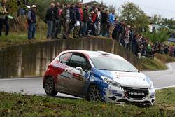 Alessandro Perico e Mauro Turati, Peugeot 208 T16, P.A. Racing