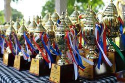 Suzuki Gixxer Cup trophies