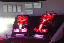 Ferrari F2001 e la Ferrari F2007