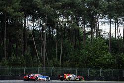 #46 Thiriet by TDS Racing Oreca 05 Nissan: Pierre Thiriet, Mathias Beche, Ryo Hirakawa, #68 Ford Chi