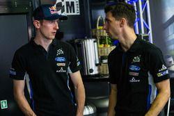 Elfyn Evans, M-Sport Ford Fiesta WRC and Eric Camilli, M-Sport Ford Fiesta WRC