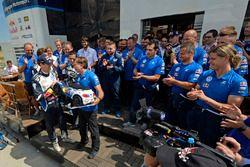 Sébastien Ogier, Volkswagen Polo WRC, Volkswagen Motorsport con Jost Capito, Volkswagen Motorsport D