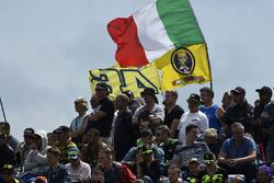 Rossi fans flag