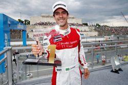 Lucas di Grassi comemora vitória em Norisring pela Audi TT Cup