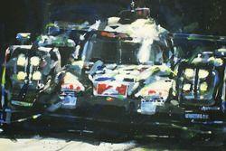 Le Mans 24 Hours pemenang #2 Porsche Team Porsche 919 Hybrid: Marc Lieb, Romain Dumas, Neel Jani