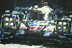 Le Mans 24 Hours winner #2 Porsche Team Porsche 919 Hybrid: Marc Lieb, Romain Dumas, Neel Jani