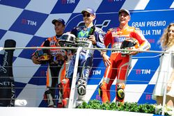 Хорхе Лоренсо, Yamaha Factory Racing, Марк Маркес, Repsol Honda Team, Андреа Янноне, Ducati Team