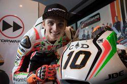 Luca Marini, Forward Racing con decoración especial de Mugello