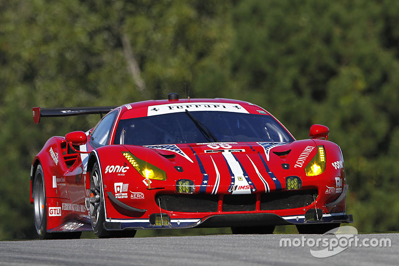 #68 Scuderia Corsa, Ferrari 488 GTE: Alessandro Pier Guidi, Daniel Serra, Andrea Bertolini