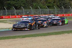 La partenza di Gara 1 GT3