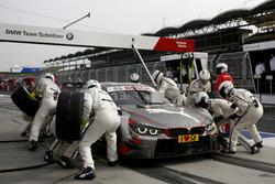 Pit stop, António Félix da Costa, BMW Team Schnitzer, BMW M4 DTM