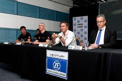 Presentación coche Venturi con Alejandro Agag, CEO de Fórmula E