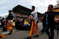 Antonio Giovinazzi, PREMA Racing and Sean Gelael, Pertamina Campos Racing