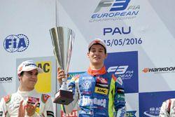 Podium, Alessio Lorandi, Carlin Dallara F312 – Volkswagen