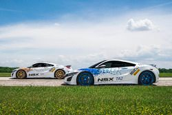 Two Acura NSX supercars will compete in the Time Attack 1 and 2 classes at Pikes Peak, and will be piloted by brothers James and Nick Robinson, both from Honda R&D Americas