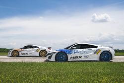Acura NSX Time Attack 1 und 2