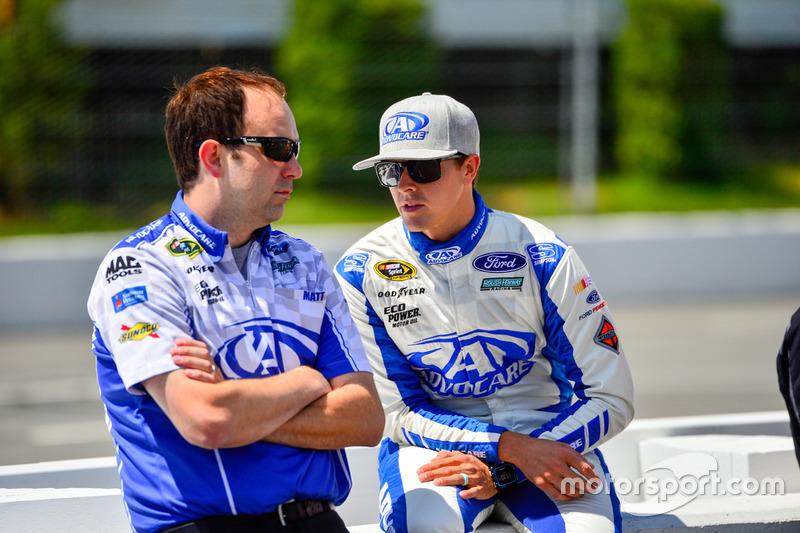 Trevor Bayne, Roush Fenway Racing Ford, Matt Puccia