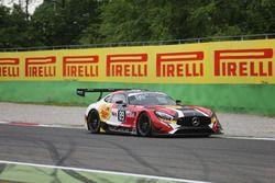 #89 AKKA ASP, Mercedes-AMG GT3: Laurent Cazenave, Michael Lyons, Daniele Perfetti