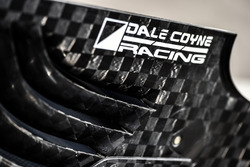 El alerón trasero de un Dale Coyne Racing Honda