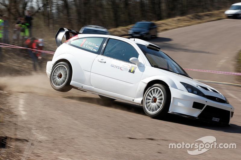 2014 год – Маркко Мяртин и Кристо Крааг, Ford Focus RS WRC 03