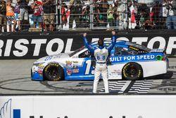 Ganador de la carrera Carl Edwards, Joe Gibbs Racing Toyota