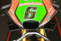 Detalle de los alerones de Stefan Bradl, Aprilia Racing Team Gresini