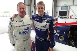 Martin Brundle et Alex Brundle